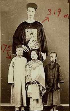世界上最高的人詹世钗