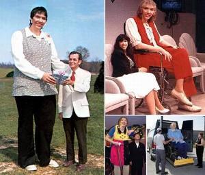 世界上最高的女性曾金莲
