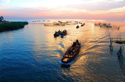 中国的第三大淡水湖是太湖