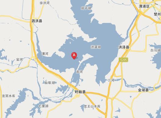 中国的第四大淡水湖是洪泽湖