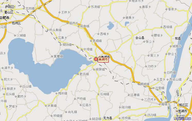 中国的第五大淡水湖是巢湖