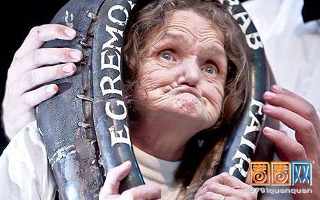 世界最丑的女人