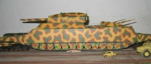 世界上最大的坦克