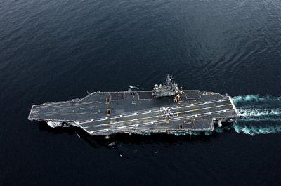世界上最大的航空母舰有多大,世界上最大的航母