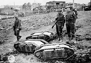 世界上最小的坦克