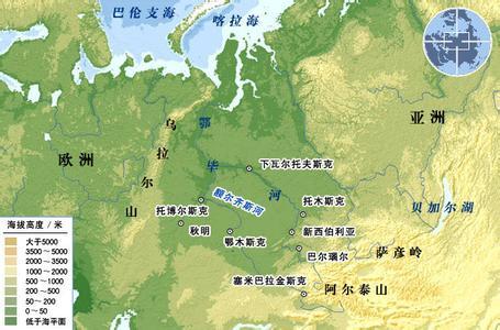 世界第六长河:鄂毕河