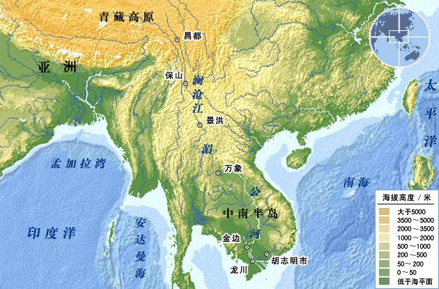 世界第八长河:湄公河