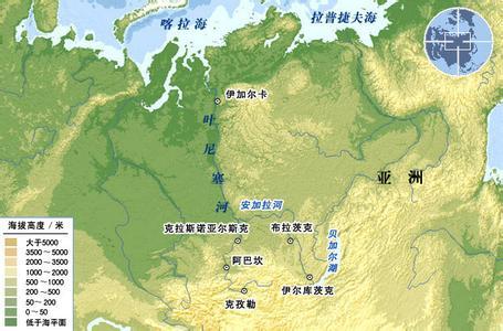 世界第七长河:叶尼塞河