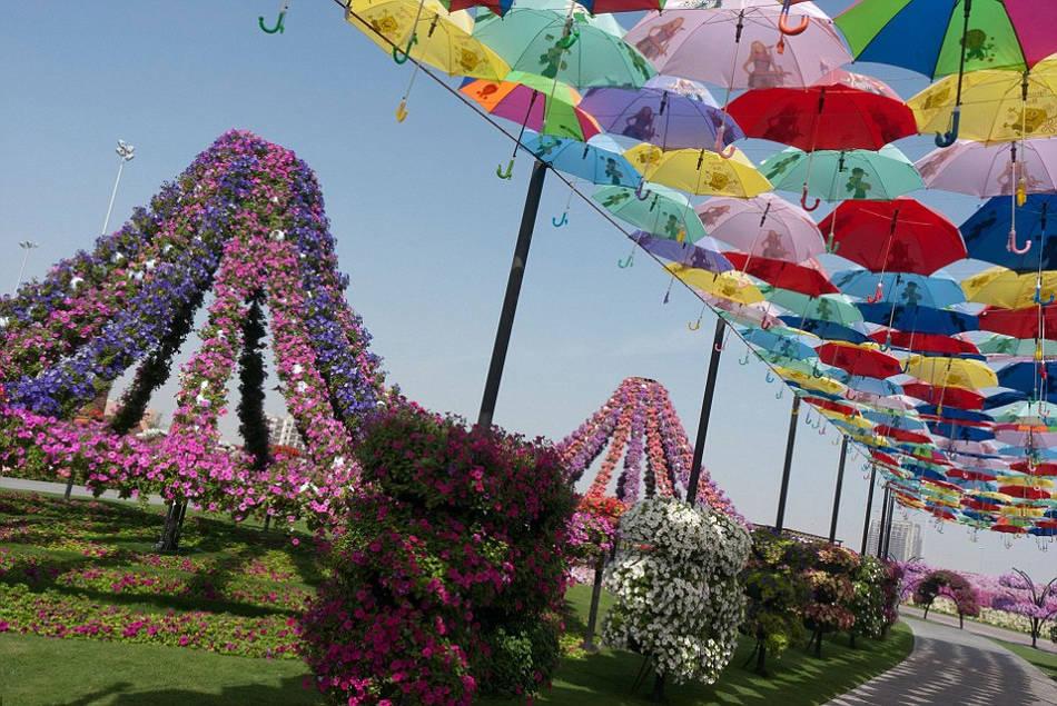 世界最大花园占地7432平方米