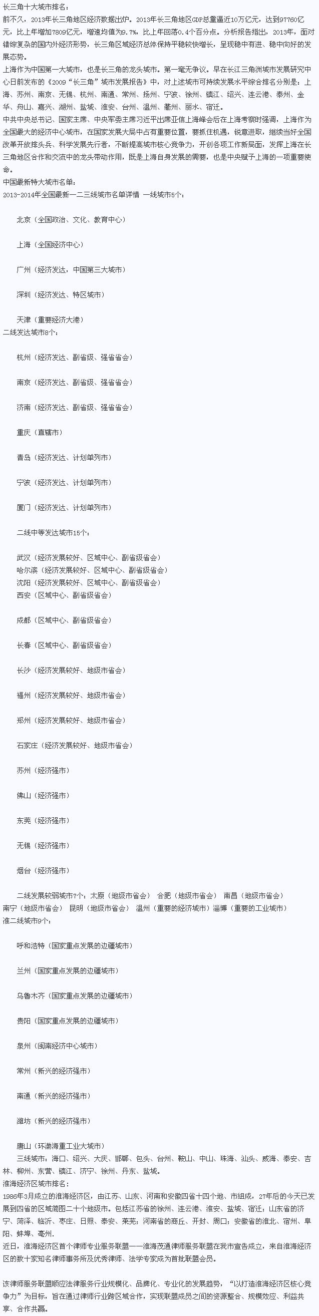 2014中国十大城市排名是怎样,中国十大城市排名