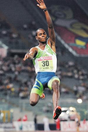 男子跳远世界纪录