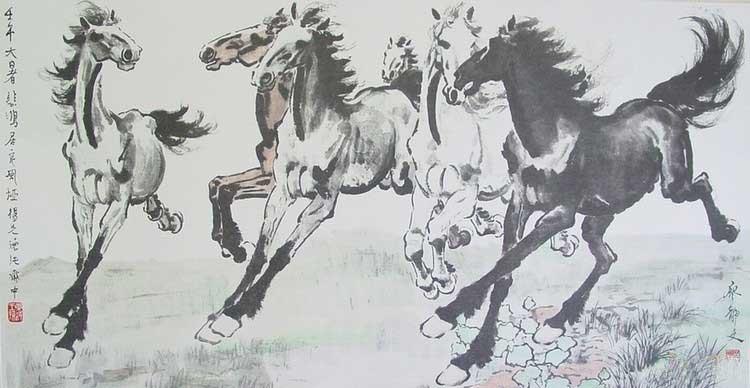 中国现代最著名的画家
