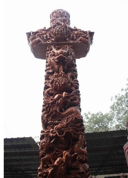 世界上最大的桃木宝剑