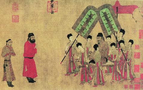 中国十大传世名画排名(多图)