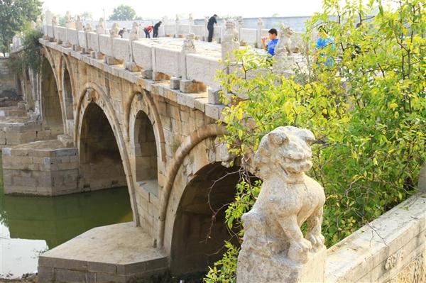 世界上最长的不对称石拱桥