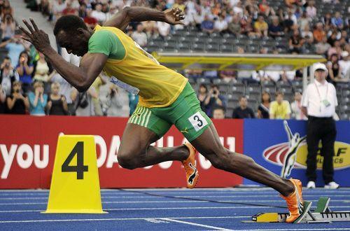 世界上跑得最快的人