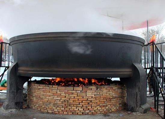 世界上最大的铁锅