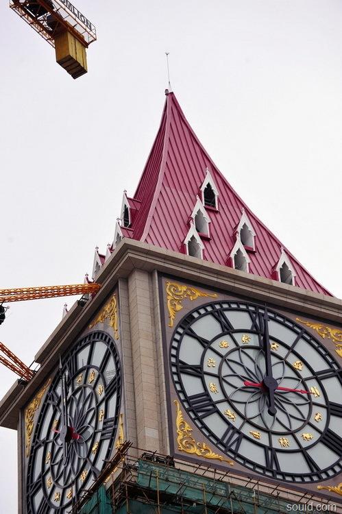 世界上最大的机械钟