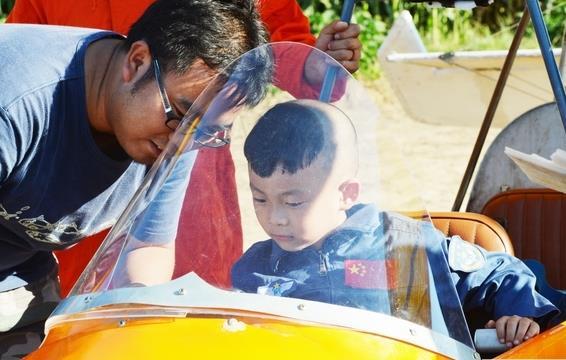 世界上年龄最小的飞行员