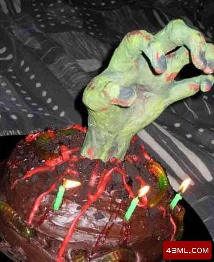 世界上最恐怖的蛋糕,血淋淋的心脏你敢吃吗