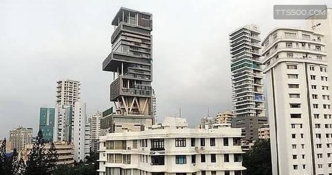 印度首富的私人豪宅安提拉