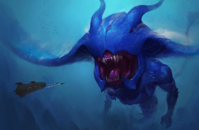 海底一万米有多恐怖