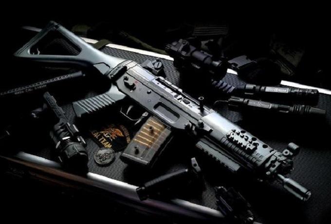 SG550突击步枪