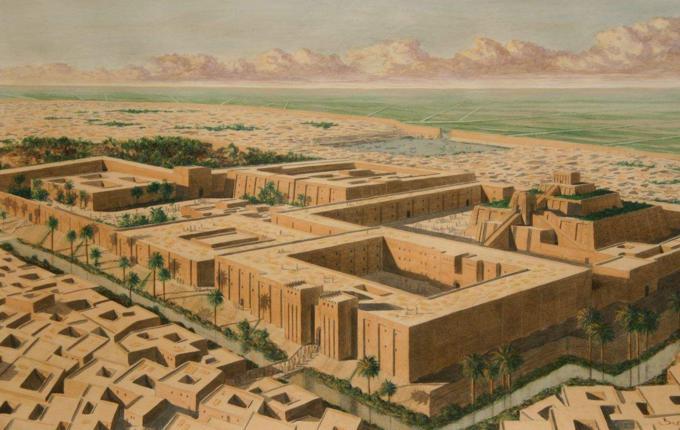 苏美尔人起源于哪里