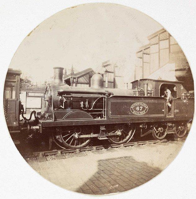 大都会铁路蒸汽机车,大约1890年