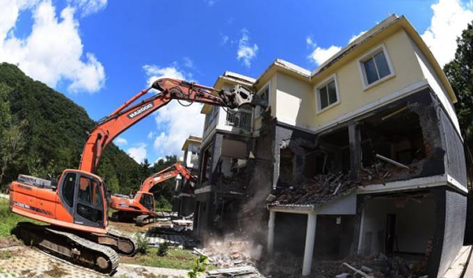 西安秦岭别墅被拆的真正原因