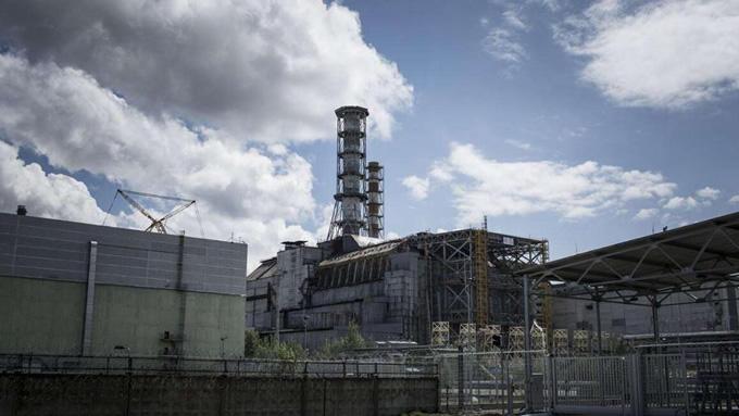 切尔诺贝利核电站废墟