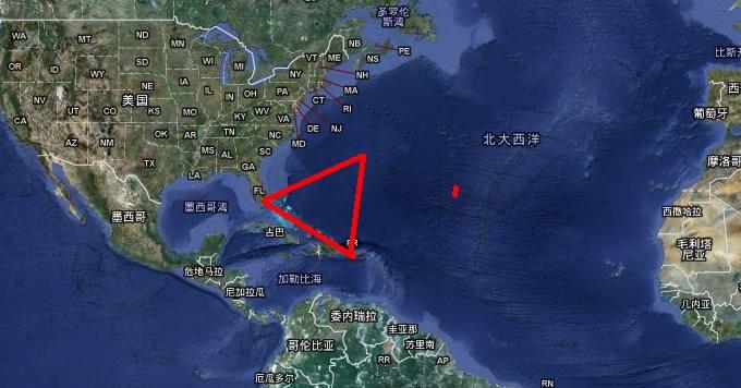 魔鬼三角洲在哪里