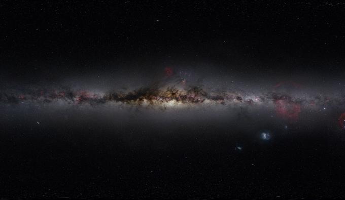 银河系有多大光年