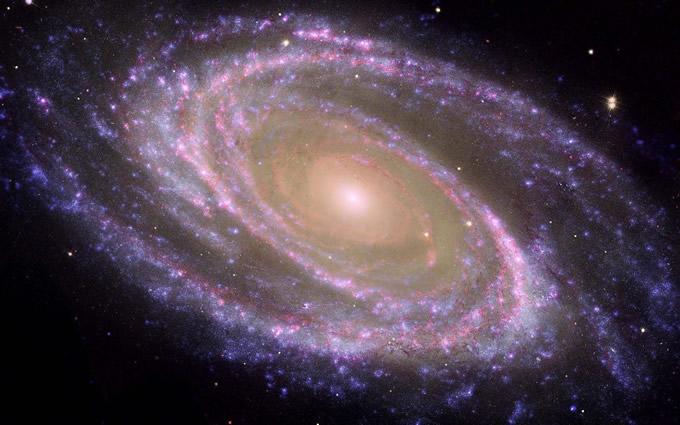 银河系有多大照片