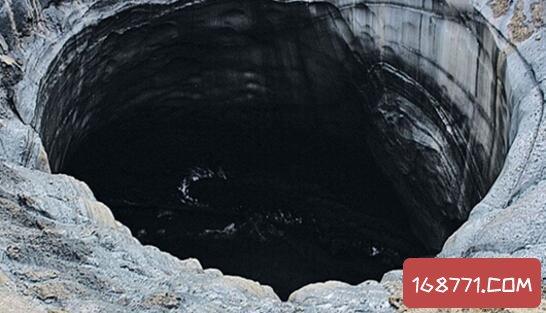 俄罗斯天坑深不见底,疑似飞船痕迹(洞底探秘)