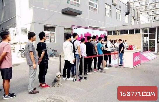 北京高校现共享校花,扫码可让校花当5分钟女友
