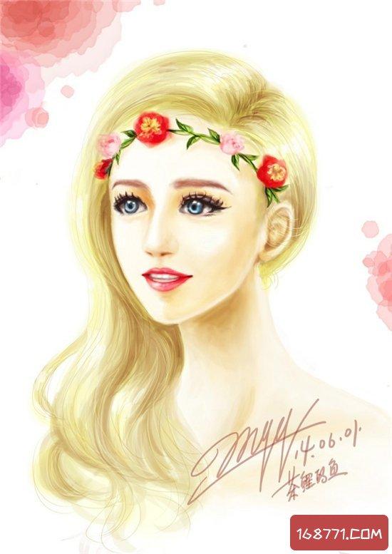 丹麦天使珂兰葵尔瑞,美得惊为天人美若天仙