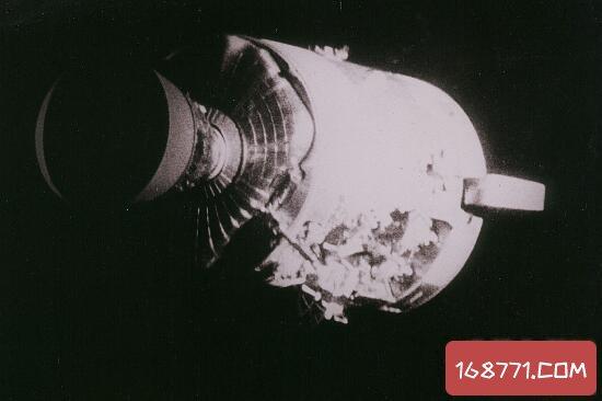 阿波罗13号事故真相,发射后飞船爆炸(幸运生还)