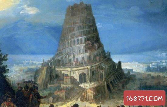 圣经巴别塔传说隐藏的秘密,上帝为何毁掉通天塔