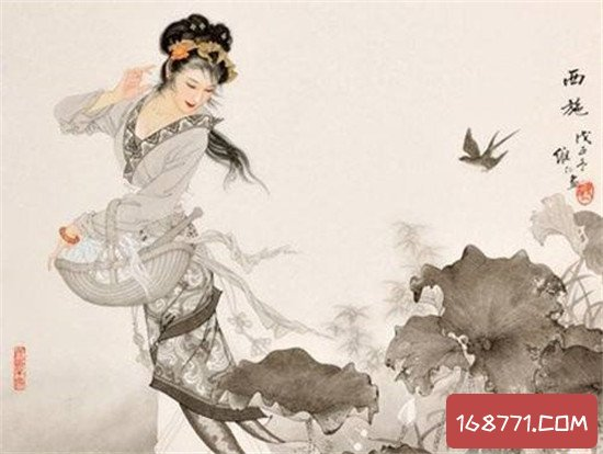 中国四大美女各有毛病 貂蝉戴首饰掩盖脖子伤疤