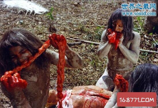 非洲食人族真的存在,吃人肉吃上瘾的恐怖族群