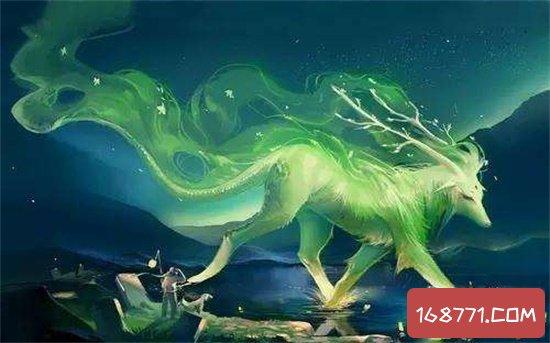 四大灵兽其实是麒麟白矖腾蛇白泽 并不是和四大神兽同称