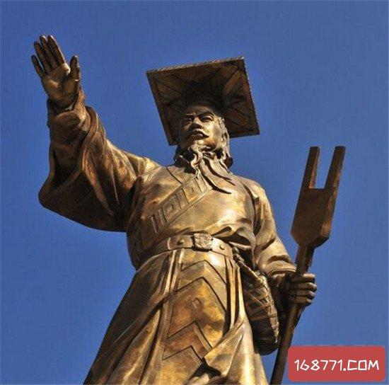 中国十大皇帝 权谋术势得天下之道