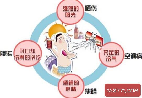 空调病的症状都有哪些,严重可导致口眼歪斜面瘫