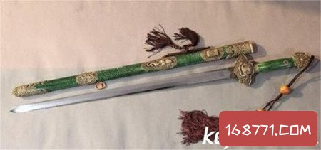 欧冶子冶炼的五把名剑 每把都是传奇