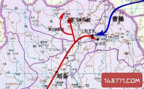 汉中之战发生在东汉末年 战况十分庞大