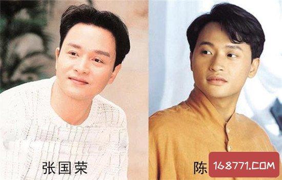 陈志朋和张国荣竟神似撞脸,为什么结局如此不同