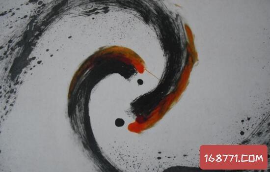 太极八卦图中的阴阳鱼,神通之物挂起来可以辟邪