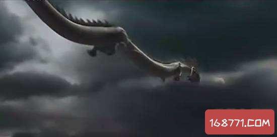 辽宁营口坠龙事件真相,竟然是鲸鱼骨架拼成龙骨架