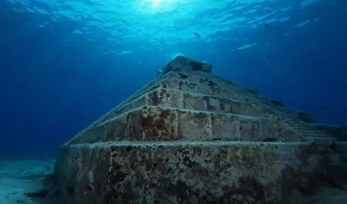 海底金字塔是真的吗